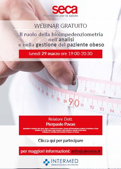 """Strumedical informa del webinar gratuito: """"Il ruolo della bioimpedenziometria nell'analisi e nella gestione del paziente obeso"""""""